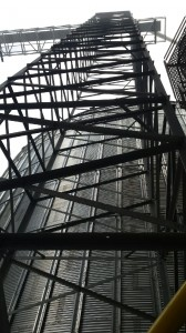 Four Leg Catwalk Support Tower
